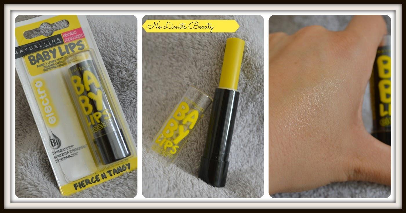 Baby Lips Electro Fierce n Tangy - limón - de Maybelline