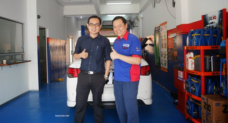 Thumbs up to Autosaver KL for a job well done