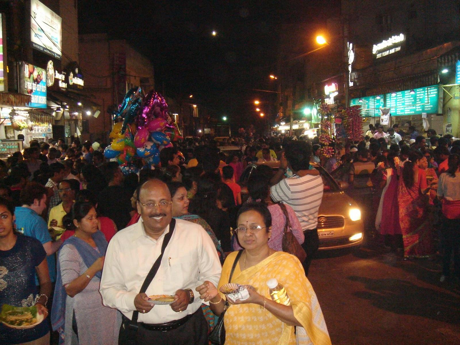 street food in bangalore