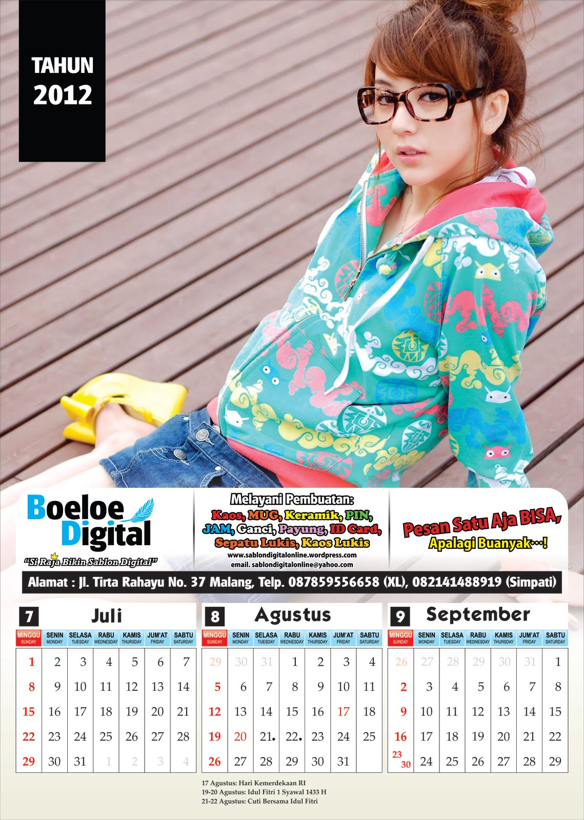 kalender 2013 indonesia lengkap gratis beserta hari libur kalender