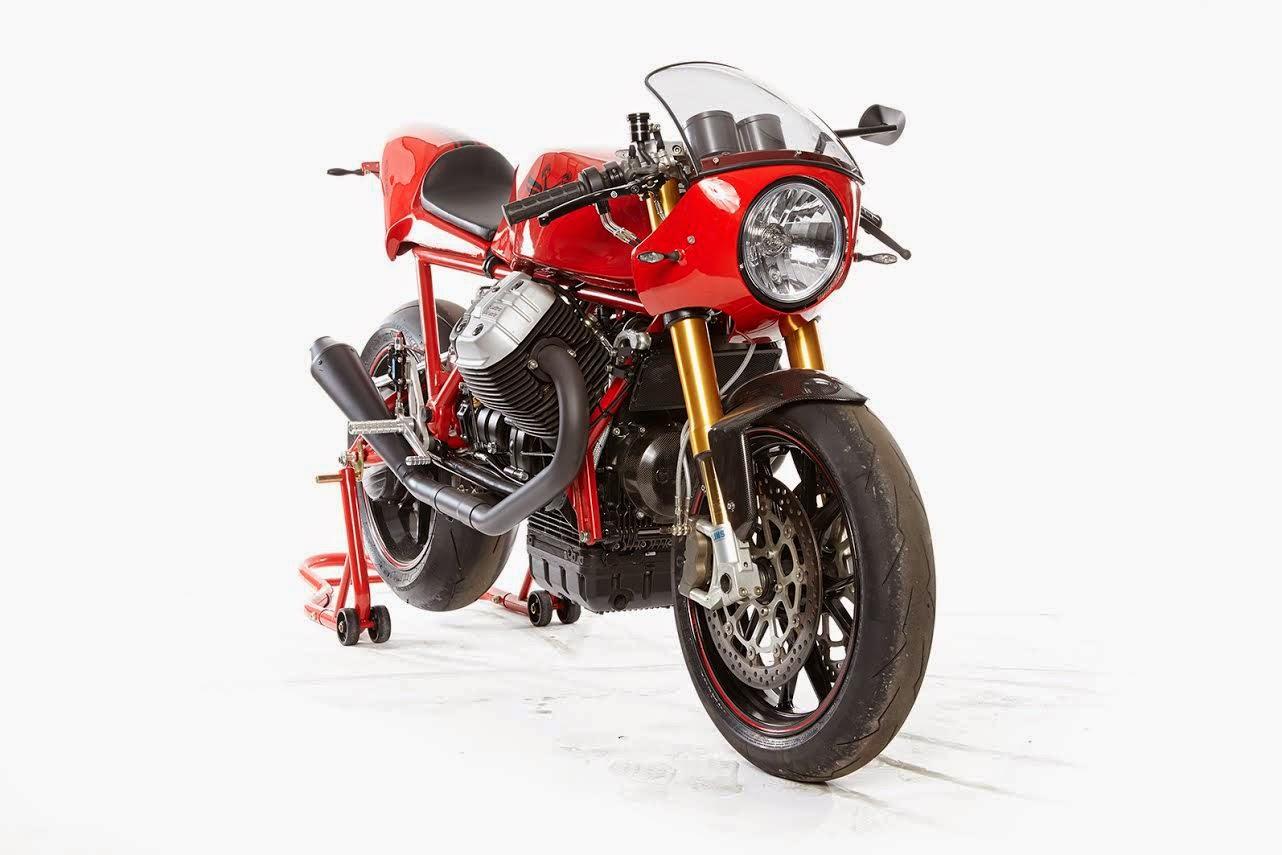 racing caf moto guzzi retro le mans 1450 by radicalguzzi. Black Bedroom Furniture Sets. Home Design Ideas