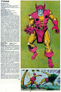 Tyrak (ficha marvel comics)