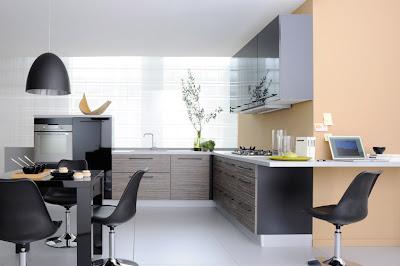 Dise o de cocinas con mucha iluminaci n cocina y muebles for Iluminacion para muebles de cocina