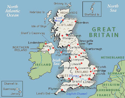 Map of Great Britain Pictures