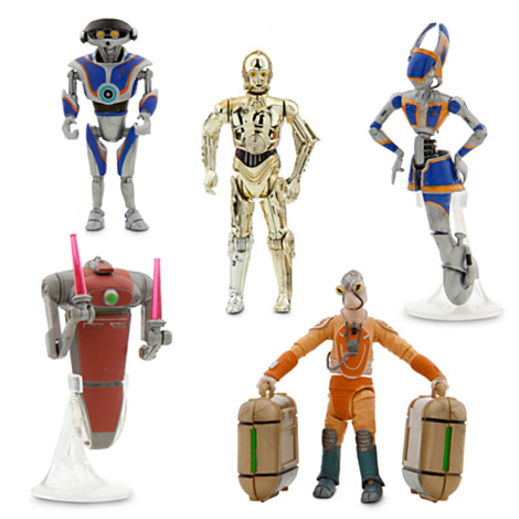 The Star Tours Star Wars Action Figures