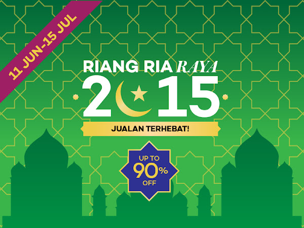 Blogger Contest Riang Ria Raya :  Go Pro 4 Dan Duit Raya RM400!