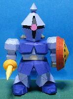 YMS-15 (Gyan) Gundam Papercraft