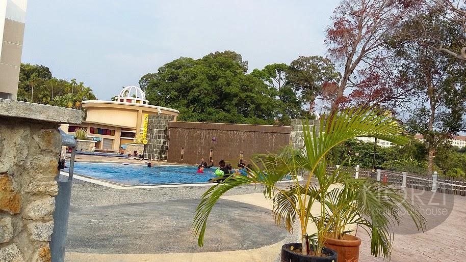 Klana Beach Resort melancong cuti sekolah Port dickson bilik