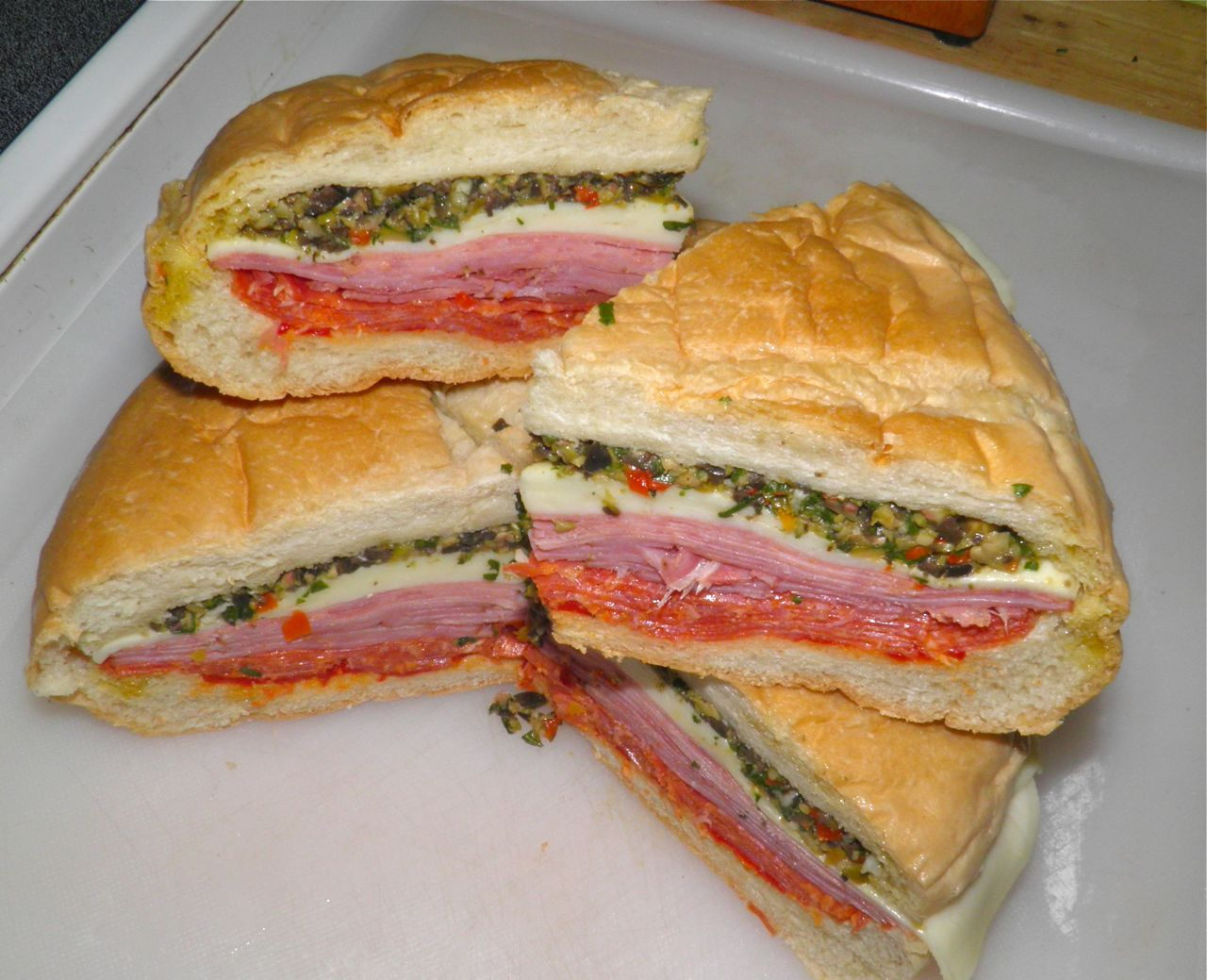 ... To The Arts: Picnic Recipe: Muffaletta, the sandwich you sit on