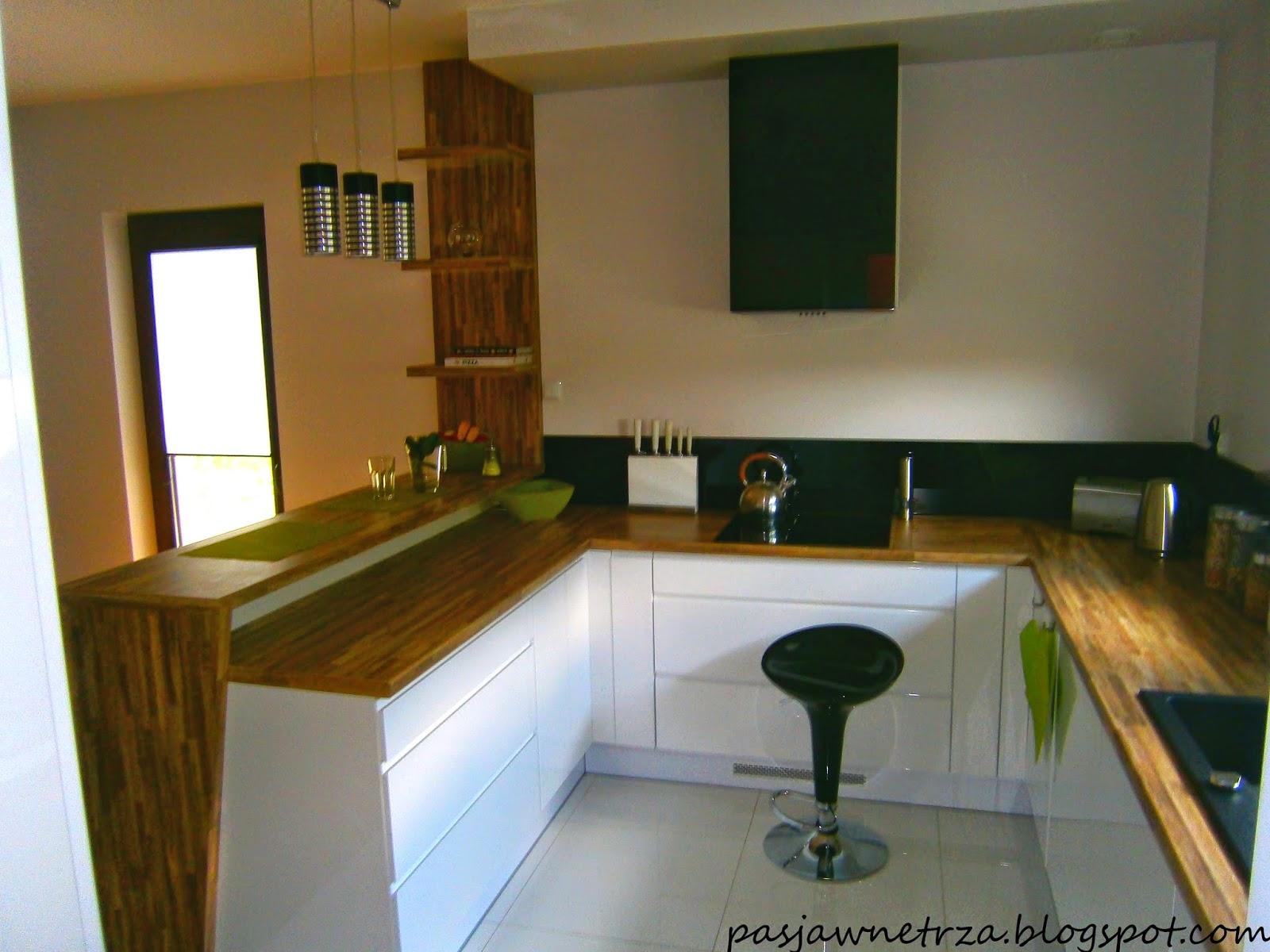 Pasja wn trza projekt i realizacja kuchni w bieli for Lada 09 salon