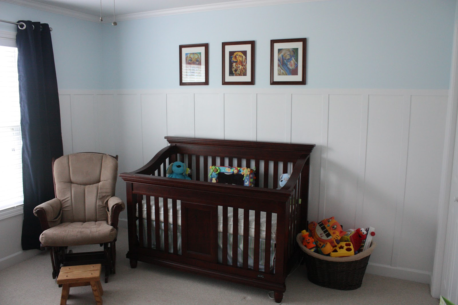 Sincerely Leigh Baby Boy s Nursery Furniture Load In