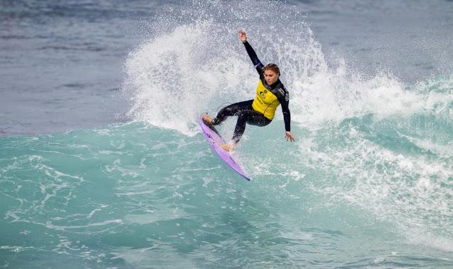rip curl bells beach 2014 Dimity Stoyle