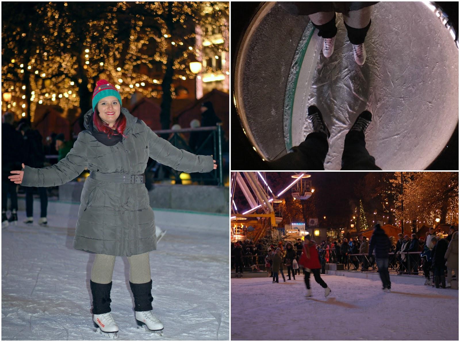 patinar no gelo em oslo