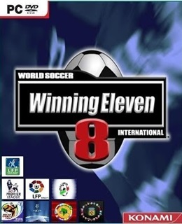 Winning Eleven 8 International Box