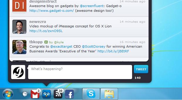 Pokki Twitter Desktop Application  Screenshot