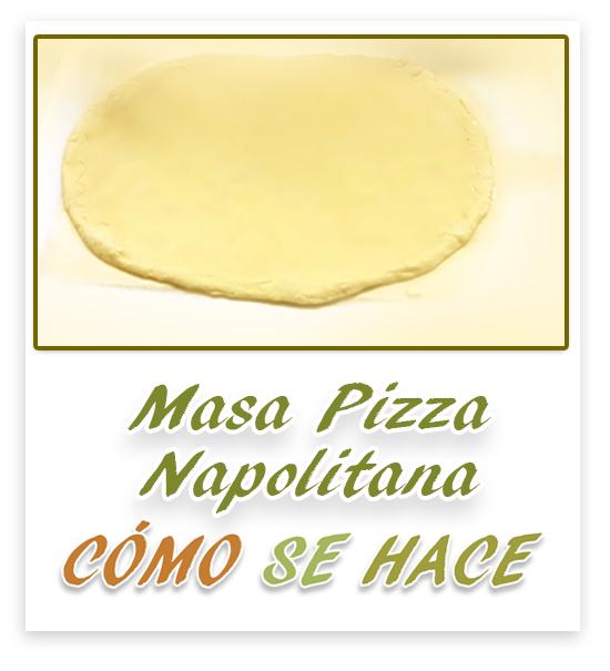 MASA PARA PIZZA...