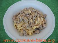 ricetta tagliatelle funghi e salsiccia