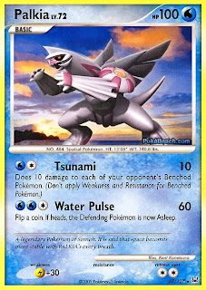 Palkia Pokemon Card Platinum set