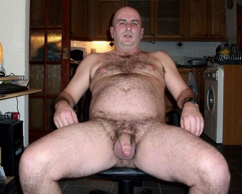 gay mature males - hairy bear furry daddies