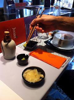 mangiare sushi a roma