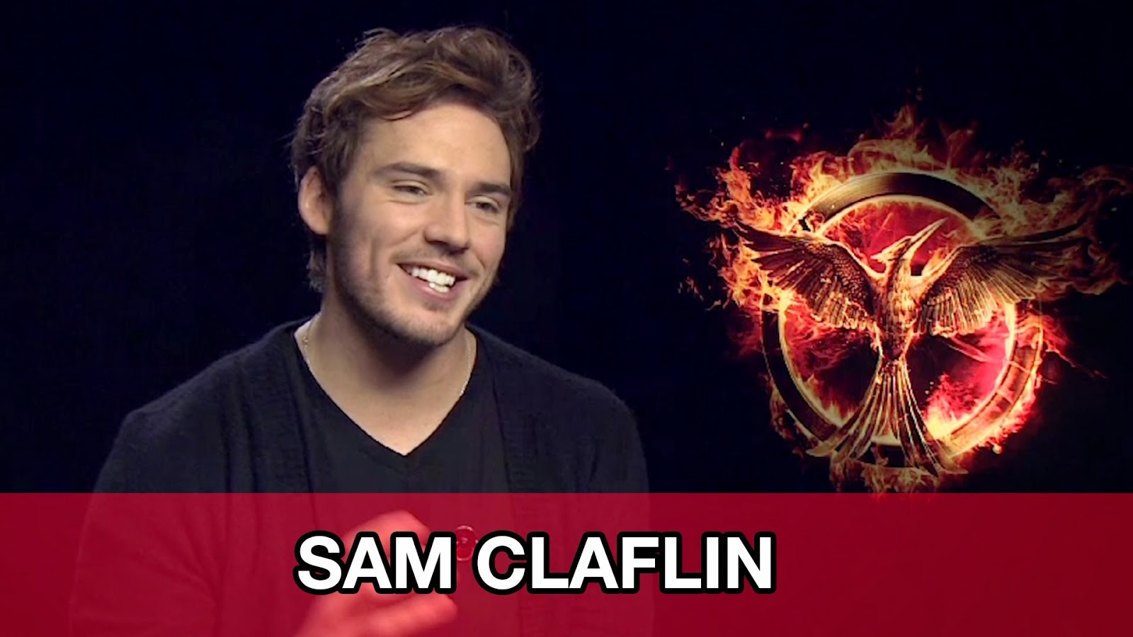 sam claflin jennifer lawrence josh hutcherson prank mockingjay part one hunger games