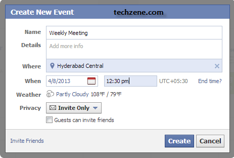 How to Create Repeat Events on Facebook?