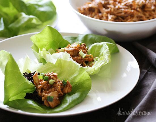 lettuce wraps sweet spicy chicken lettuce spicy thai chicken lettuce ...