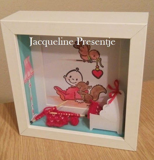 Jacqueline presentje baby slaapkamer fotolijstje - Baby slaapkamer ...