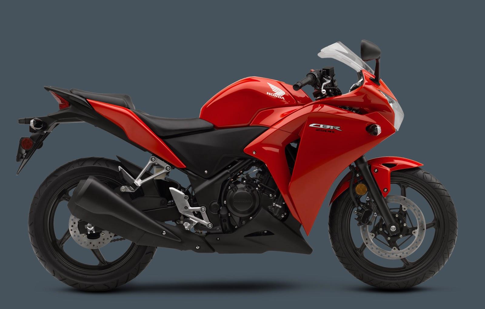 Honda CBR250R 2013 Red