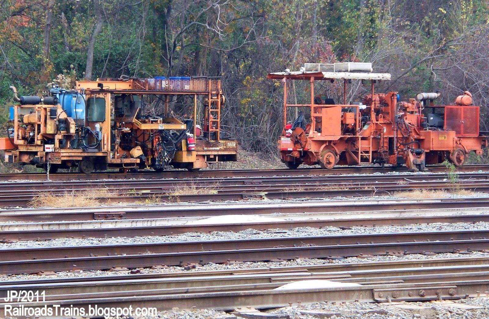 Southern siding augusta ga - Norfolk Southern Railroad Macon Georgia Ns Mw Track Cars On Siding Misc Railway Train Equipment Norfolk Southern Railroad Ns Track Maintenance Equipment