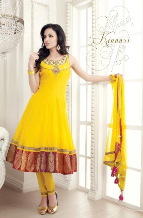 Anarkali frocks churidar pajama dresses design