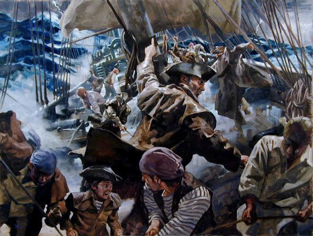 Le Barbillon - L'ascension et la Descente aux Enfers d'un Capitaine. DOOM