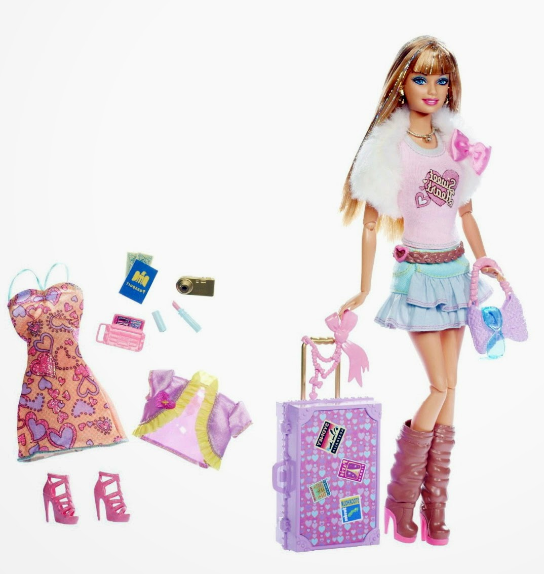 Barbie fashionistas jet set divas