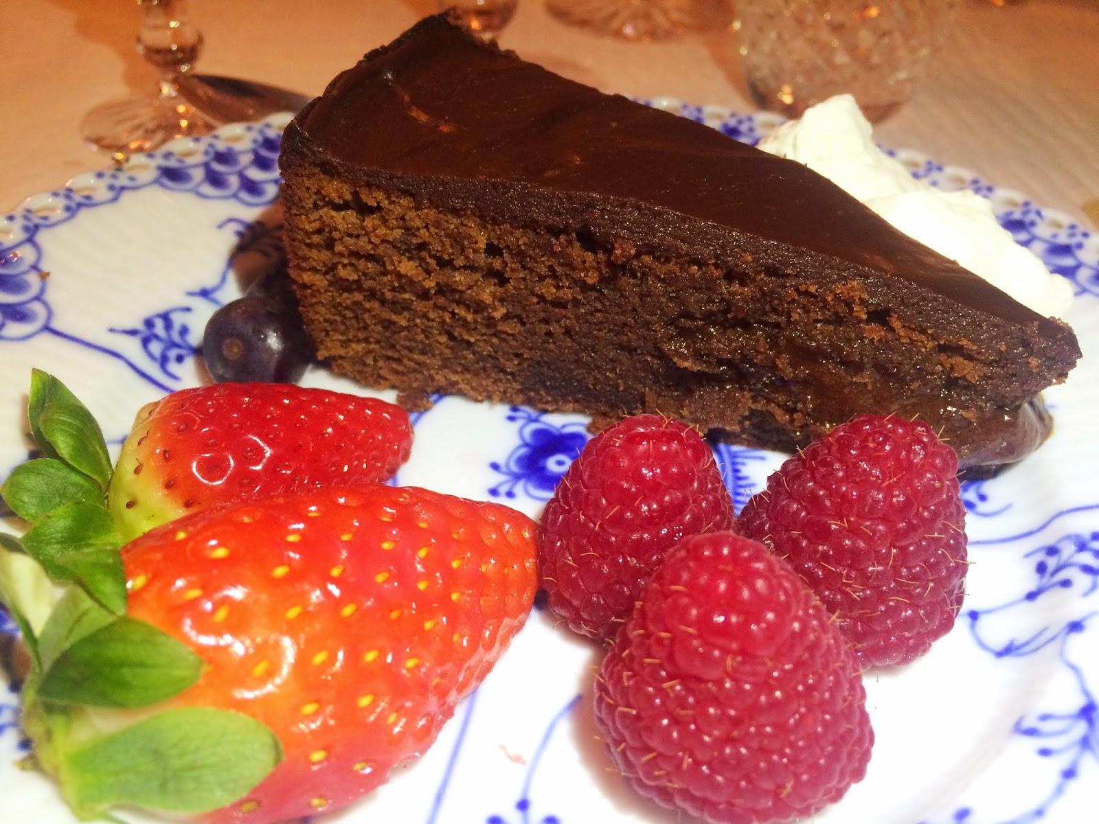 fransk chokladtårta glutenfri