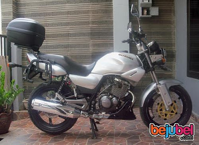 Thunder 125 touring modif