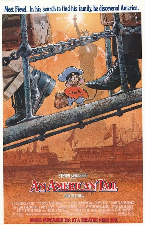 Fievel Mousekewitz An American Tail animatedfilmreviews.filminspector.com