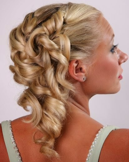 Peinados, Dama de Honor, Bucles