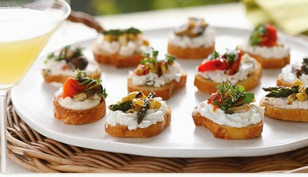 Six Great Vegetarian Appetizers for Your Next Party | Myfoodforu