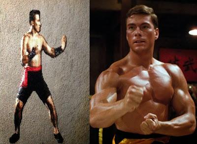 ... Johnny Cage from Mortal Kombat greatly resembled Jean Claude Van Damme in Bloodsport 1988? Originally the creators of Mortal Kombat Ed Boon and John ...
