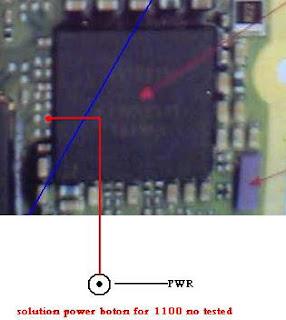 Solusi Power Nokia 1100