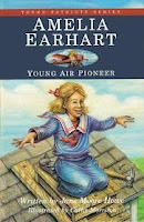 bookcover of AMELIA EARHART: Young Air Pioneer by Jane Moore Howe