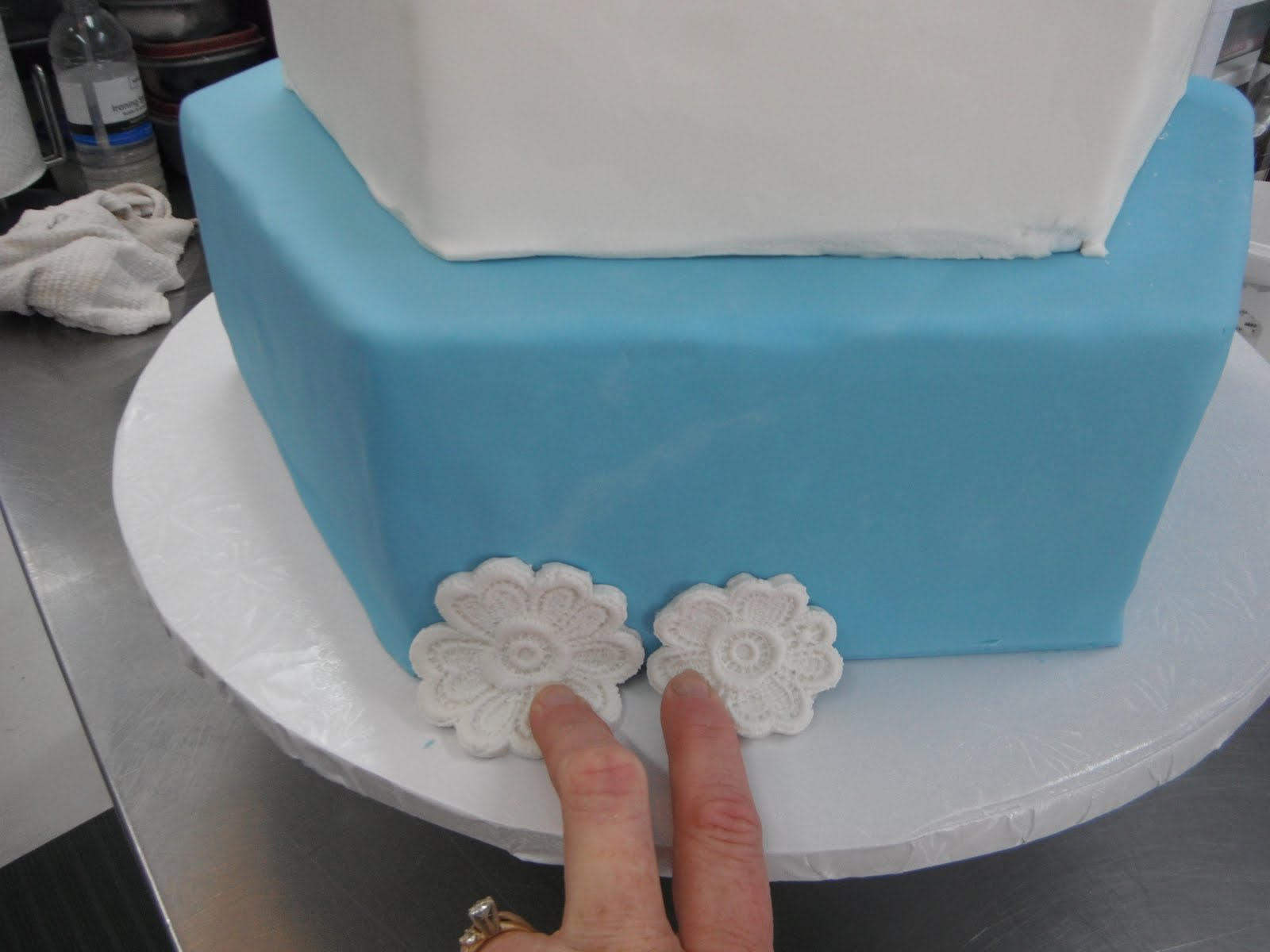 Lace Applique Cake Molds
