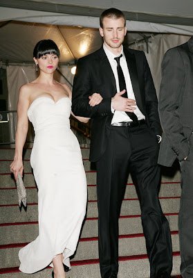 Chris Evans Girlfriend