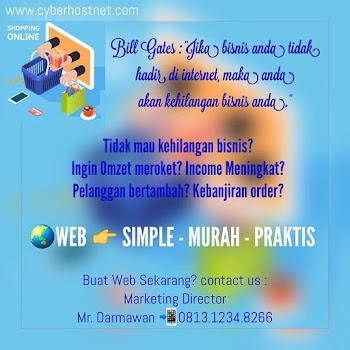 JASA PEMBUATAN WEB | SIMPLE - MURAH - PRAKTIS