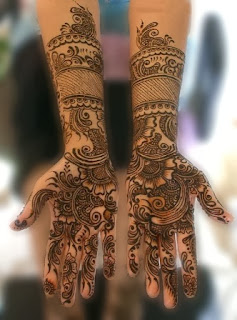 New Indian Artistic Mehndi Designs