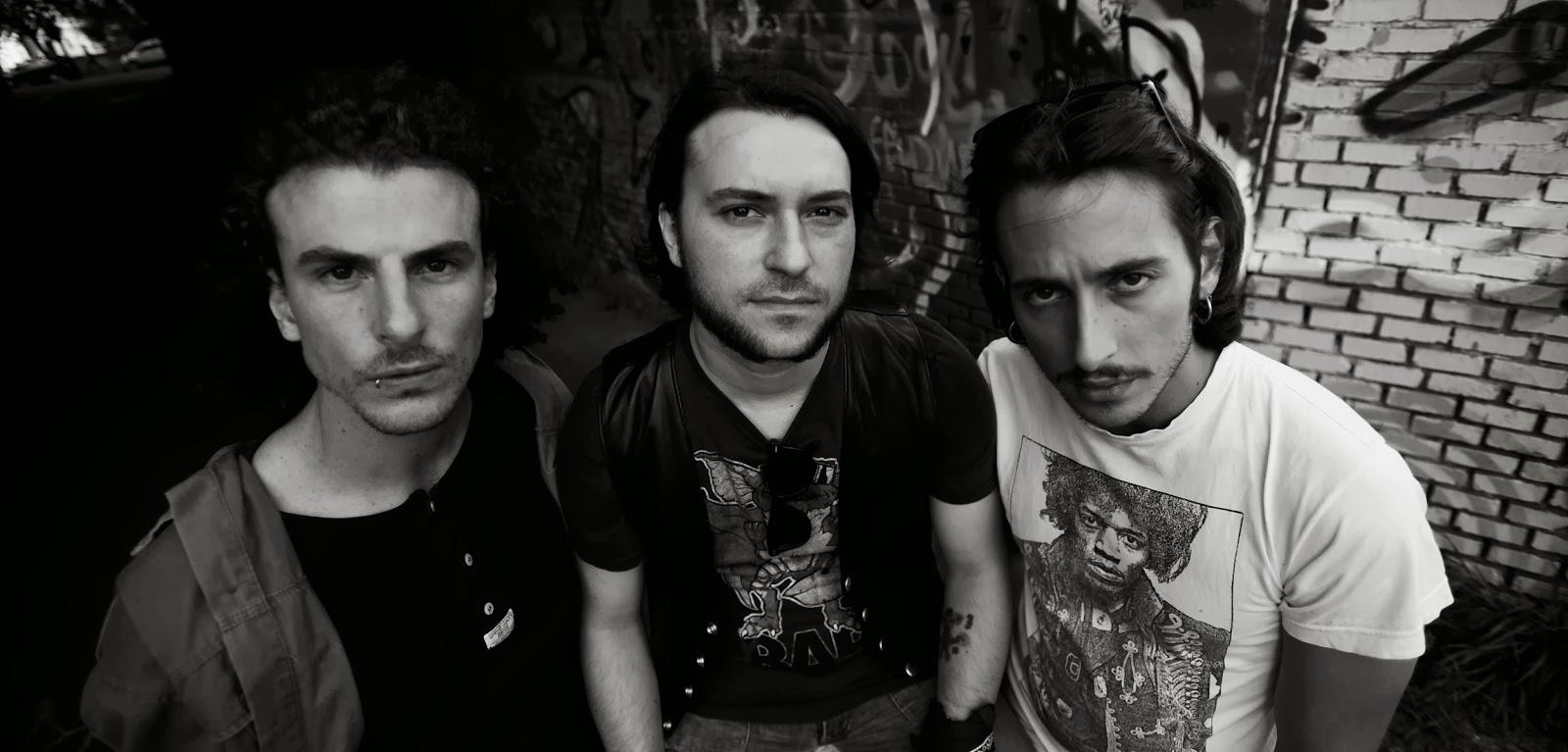 """Il trio grunge romano all'esordio ufficiale con """"Nameless"""""""