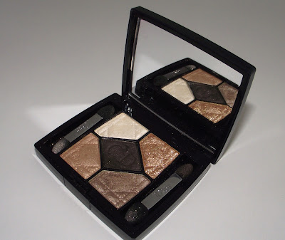 Dior Grand Ball Holiday 2012 Collection 5 Couleurs Eyeshadow Palette Review - 524 Night Golds