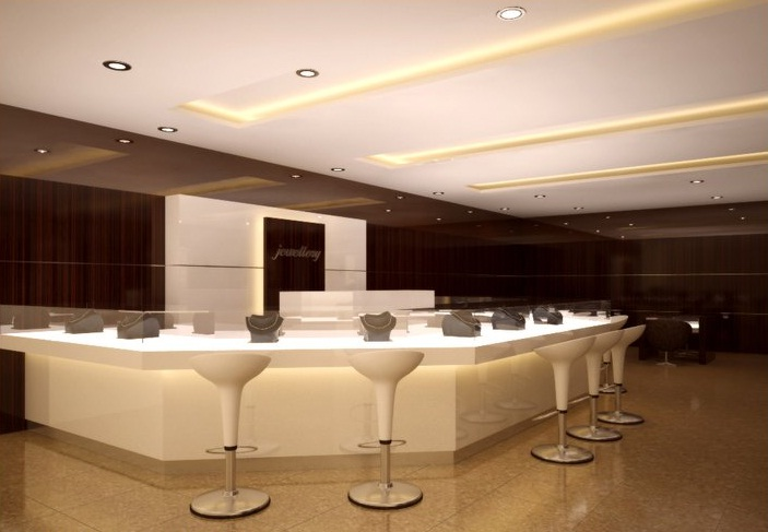 interior design ideas jewellery showroom Interior Decoration