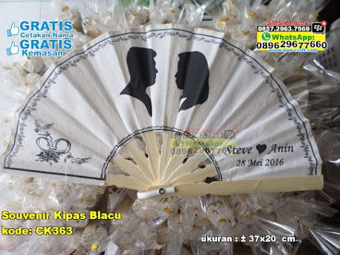 Souvenir Kipas Blacu murah