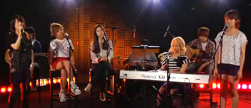 The Wonder girls - Nothin' on you @ Billboard.com | Live performance